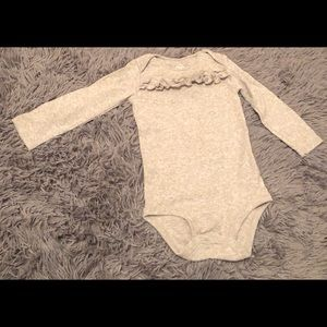 Carter's-long sleeve onesie